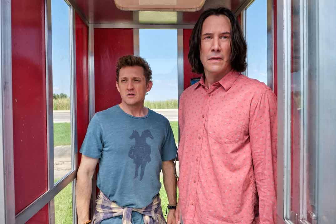 """""""Bill y Ted salvan el universo"""" – El regreso de Keanu Reeves y Alex Winter"""