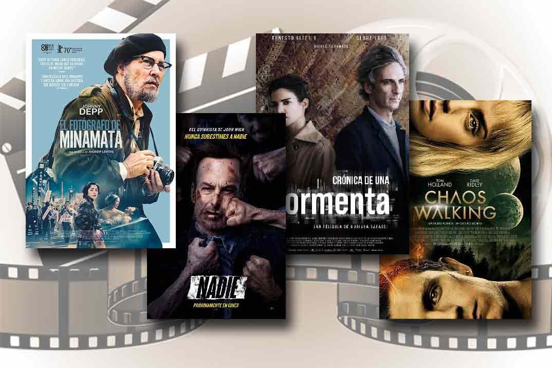 Estrenos de Cine de la Semana… 30 de Abril 2021