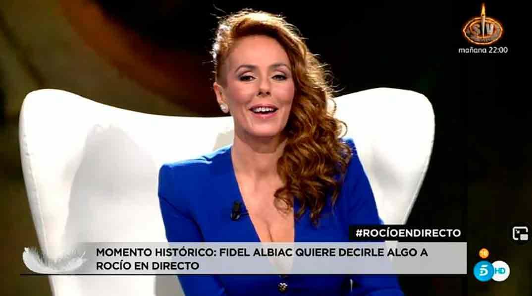 Rocío Carrasco y Fidel Albiac - Rocío, contar la verdad para seguir viva © Telecinco