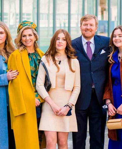 Las hijas de la reina Máxima le roban el protagonismo a su madre en el Día del Rey