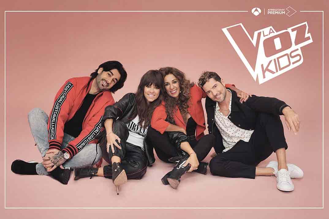 Vuelve 'La Voz Kids' con David Bisbal, Rosario Flores, Vanesa Martín y Melendi
