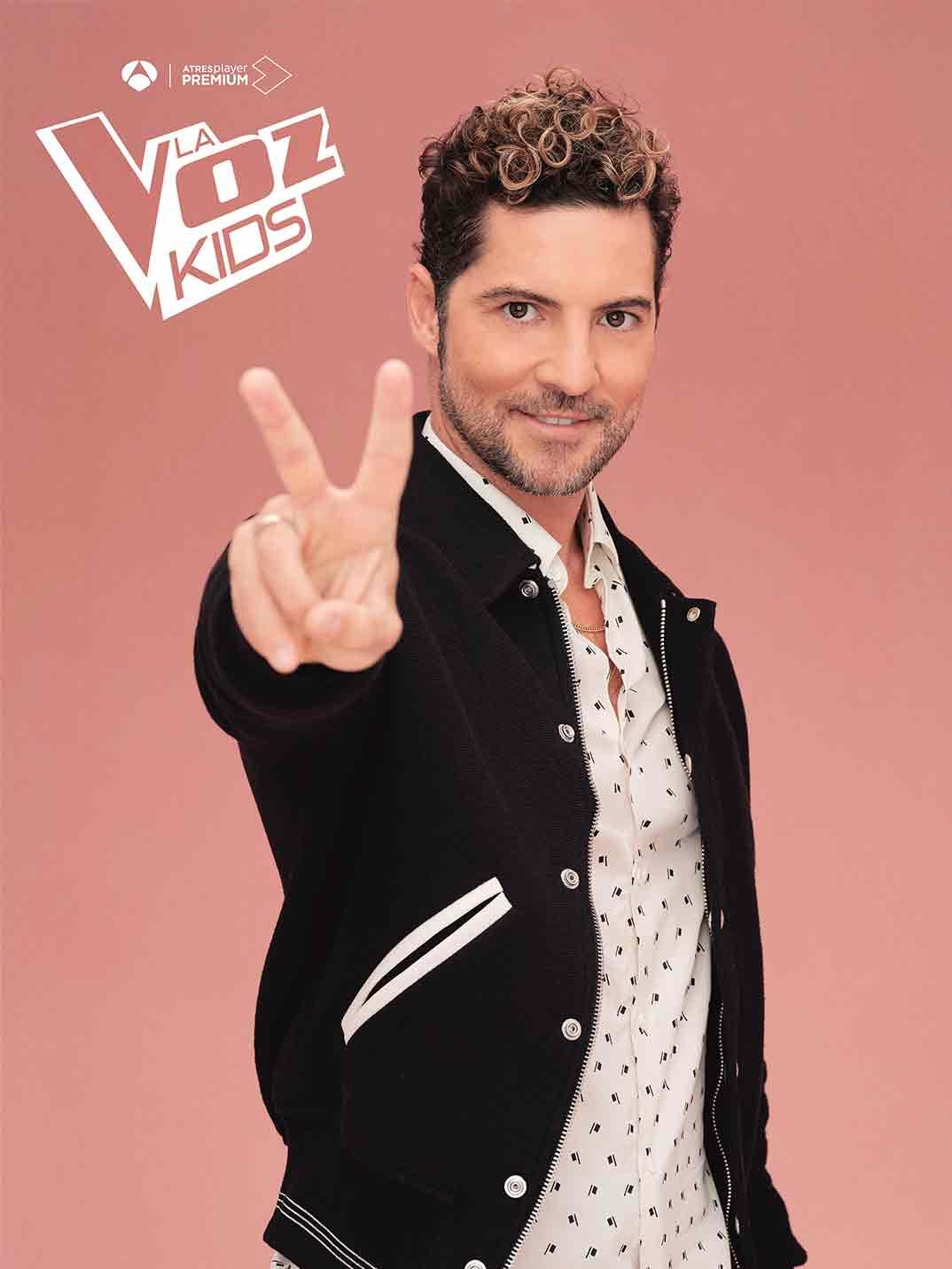David Bisbal - La Voz Kids © Antena 3