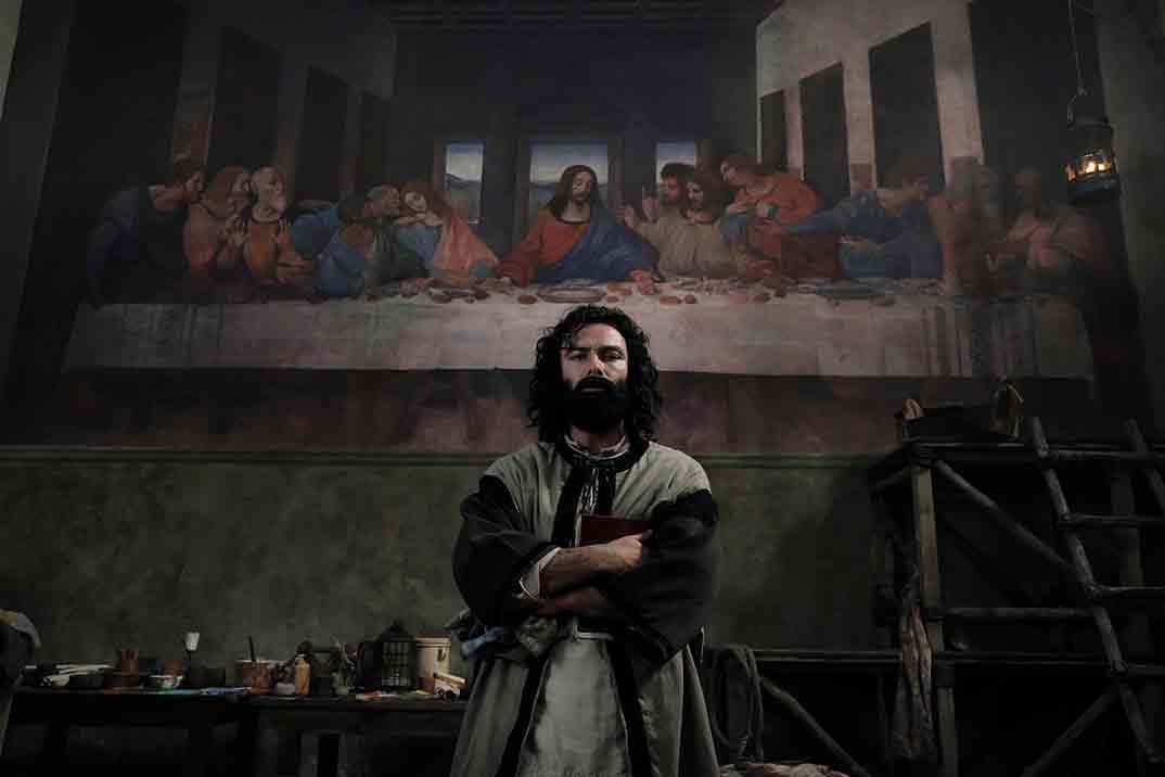 Aidan Turner es Leonardo © RTVE/FABIO LOVINO