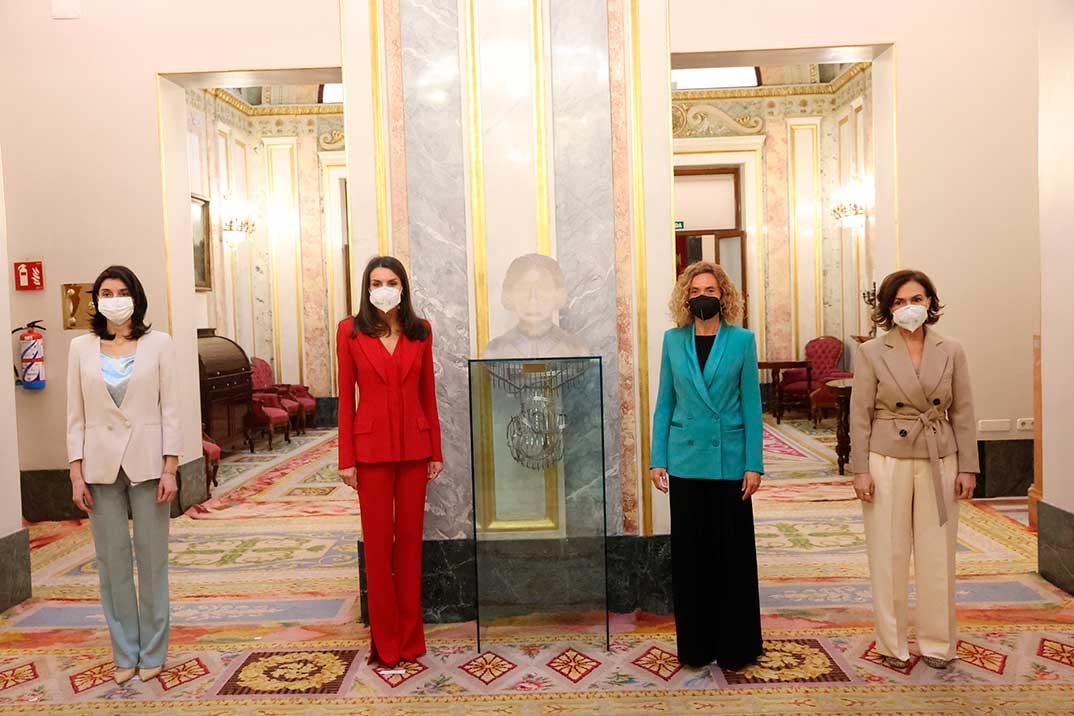 Reina Letizia - Acto Homenaje Clara Campoamor © Casa de S.M. el Rey