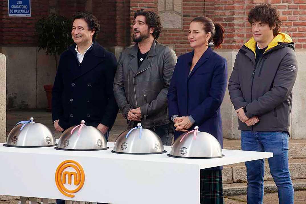 Antonio Orozco, Samantha Vallejo Nagera, Jordi Cruz, y Pepe Rodríguez - Masterchef © RTVE