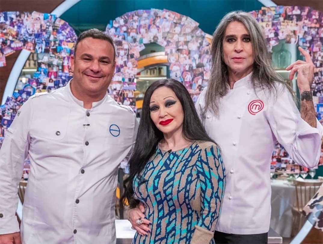 Ángel León, Alaska y Mario Vaquerizo - Masterchef © RTVE
