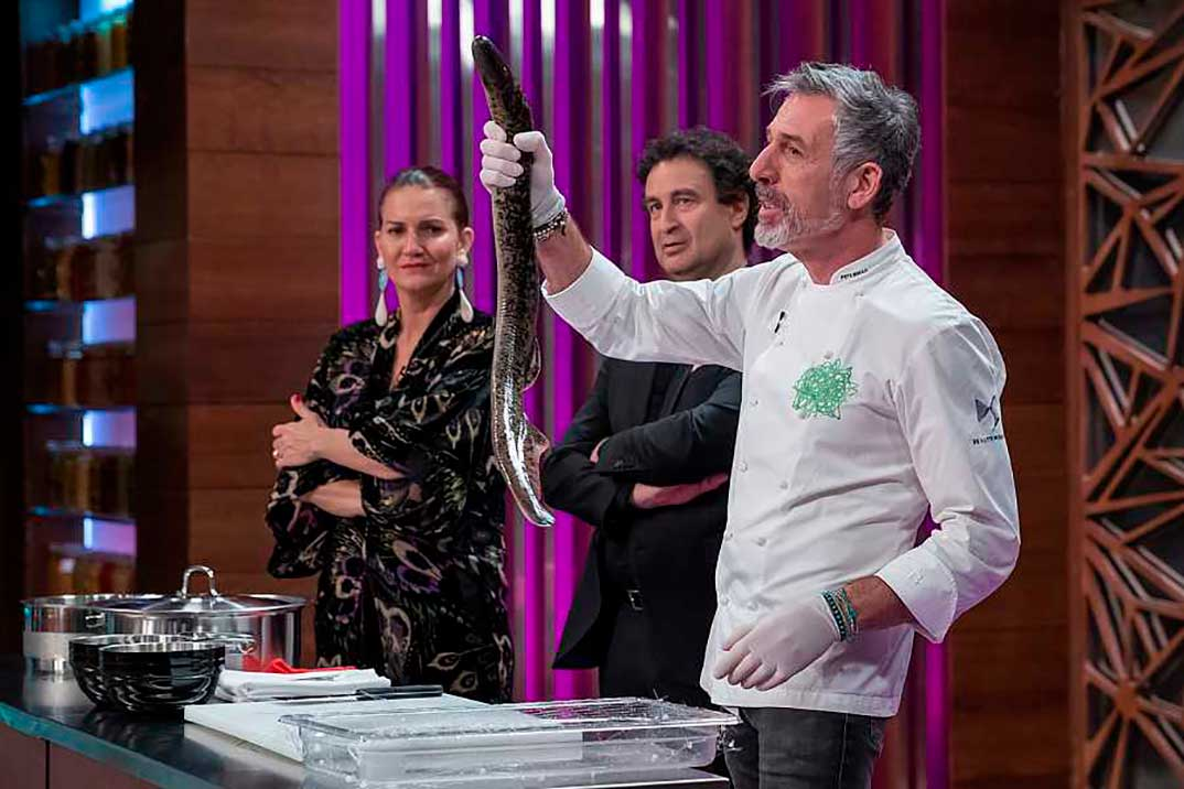 Samantha Vallejo Nagera, Pepe Rodríguez y Jordi Cruz - MasterChef 9 © RTVE