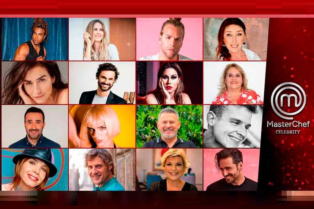 'MasterChef Celebrity 6': Los 16 celebrities confirmados