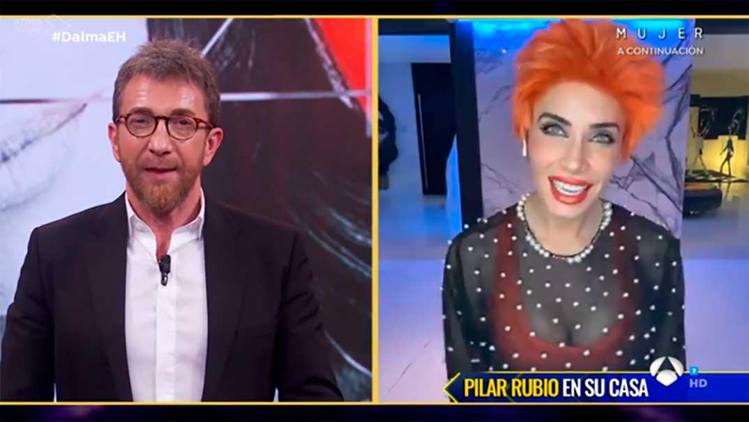 Pilar Rubio y Pablo Motos - El Hormiguero © Antena 3
