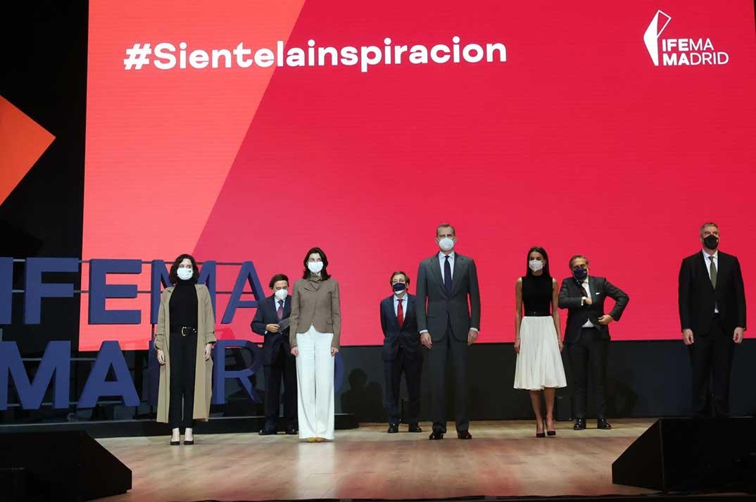 Reyes Felipe y Letizia - IFEMA © Casa S.M. El Rey