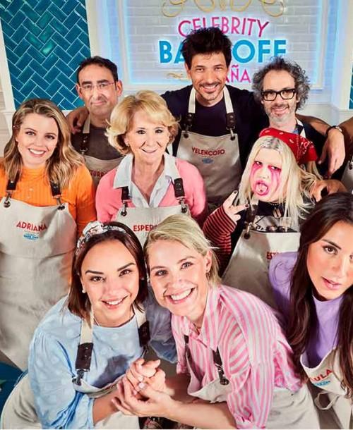 'Celebrity Bake Off': Todos los concursantes… Desde Chenoa y Soraya… hasta Andrés Velencoso