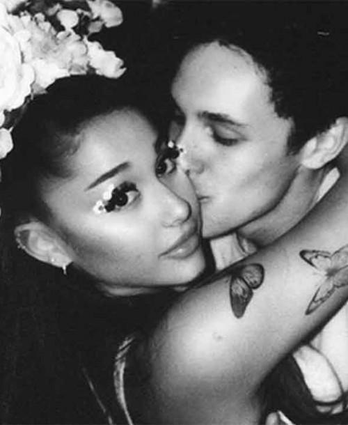Ariana Grande se casa en secreto con Dalton Gomez