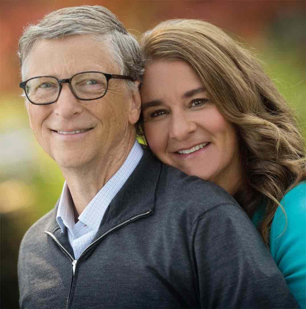 Bill Gates y Melinda Gates © Instagram