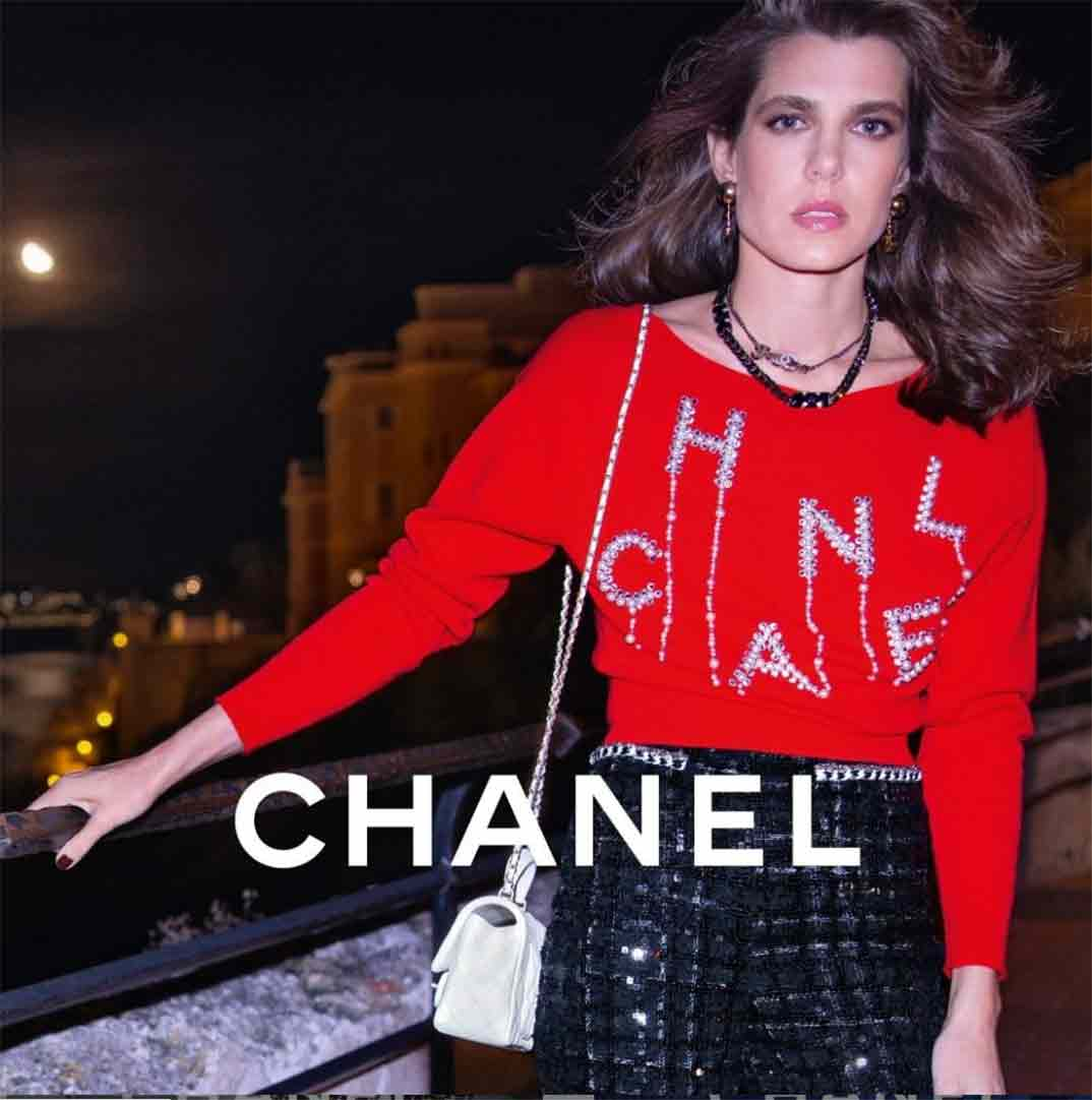 Carlota Casiraghi © Chanel/Instagram