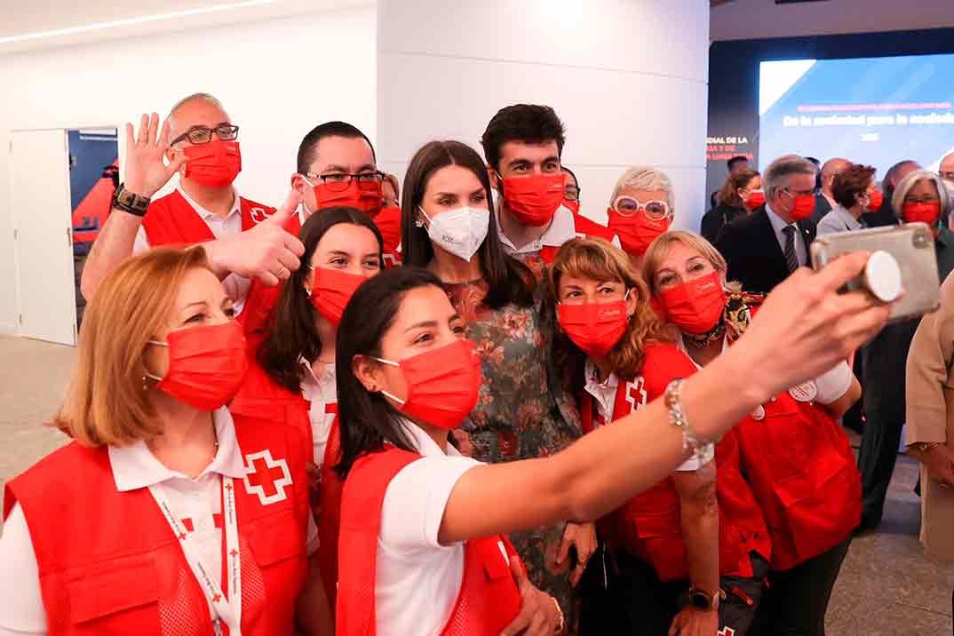Reina Letizia - Día Mundial de la Cruz Roja © Casa de S.M. el Rey