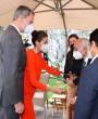 La reina Letizia sorprende con su estilismo en la entrega del Premio Miguel de Cervantes