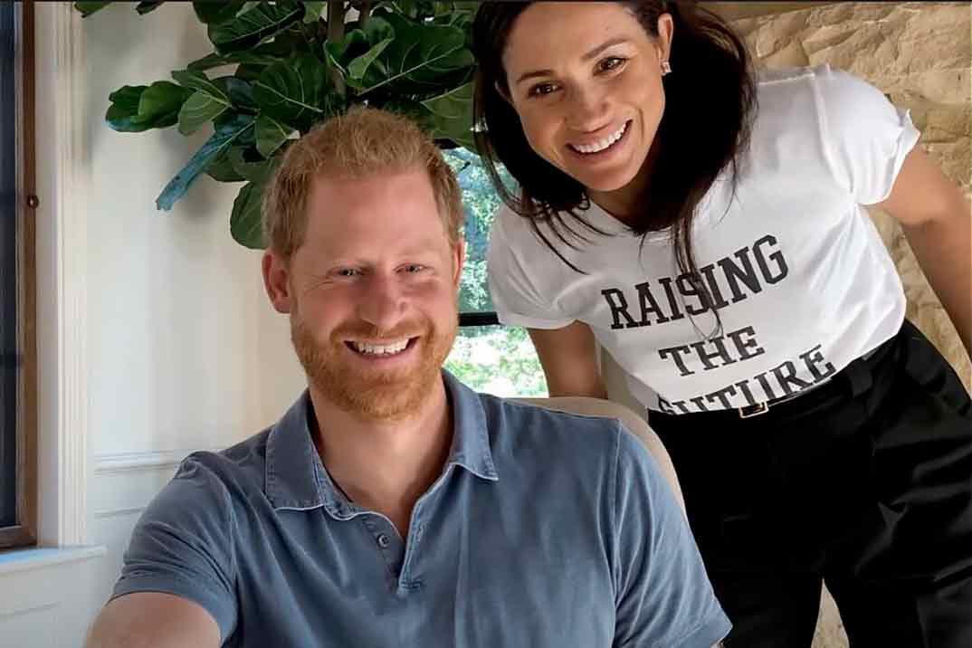 Meghan Markle reaparece en el tráiler de la docu-serie de Oprah Winfrey y el príncipe Harry