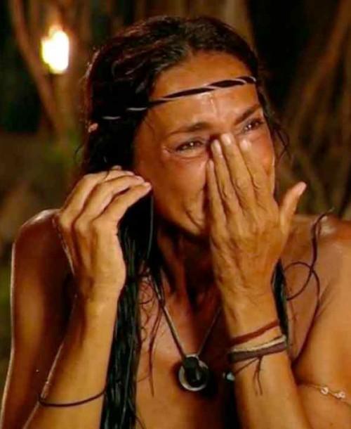 """Olga Moreno le envía un mensaje entre lágrimas a Rocío Flores: """"Se me ha ido la boquita un poco"""""""