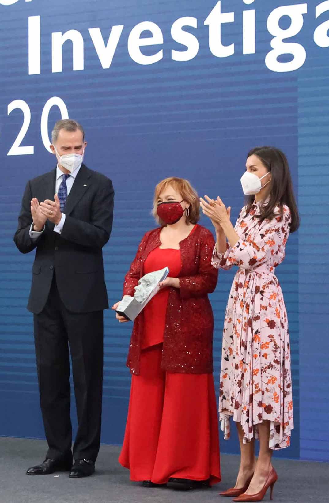 Reyes Felipe y Letizia - Premios Nacionales de Investigación 2020© Casa S.M. El Rey