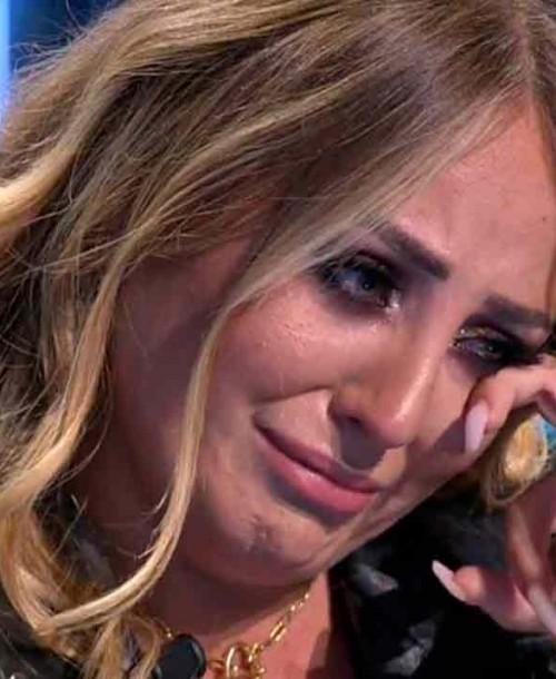 Rocío Flores rompe a llorar y abandona el plató de 'Supervivientes'
