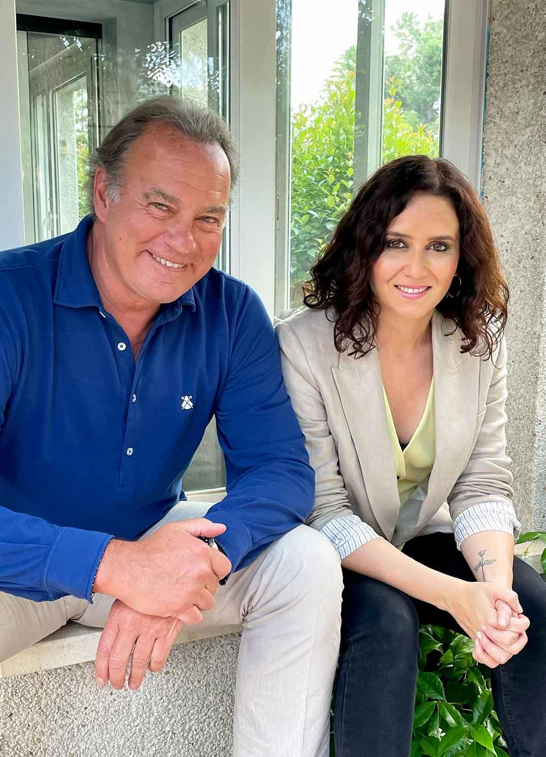 Isabel Díaz Ayuso y Bertín Osborne - Mi casa es la tuya © Telecinco