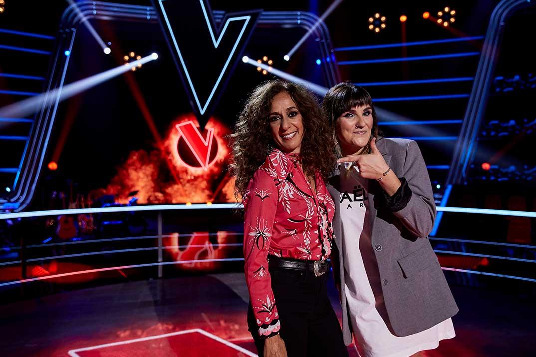 Rosario y Rozalén - La Voz Kids © Antena 3