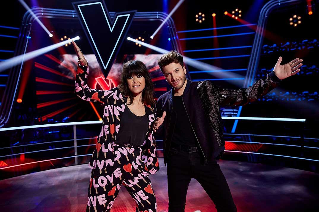 Vanesa Martín y Blas Cantó - La Voz Kids © Antena 3