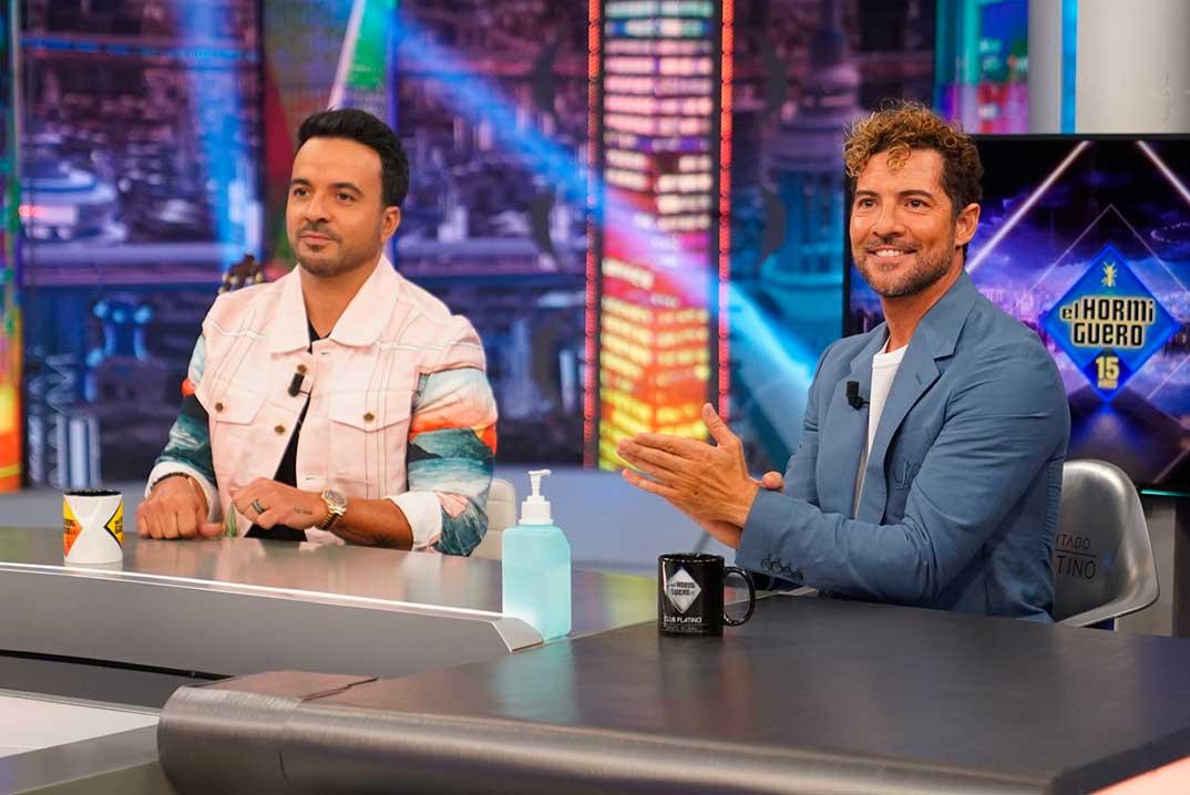 David Bisbal y Luis Fonsi - El Hormiguero © Antena 3