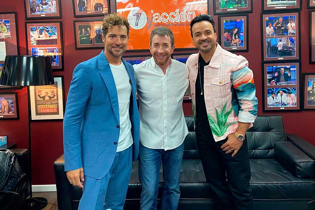 David Bisbal y Luis Fonsi revelan cómo nació su amistad