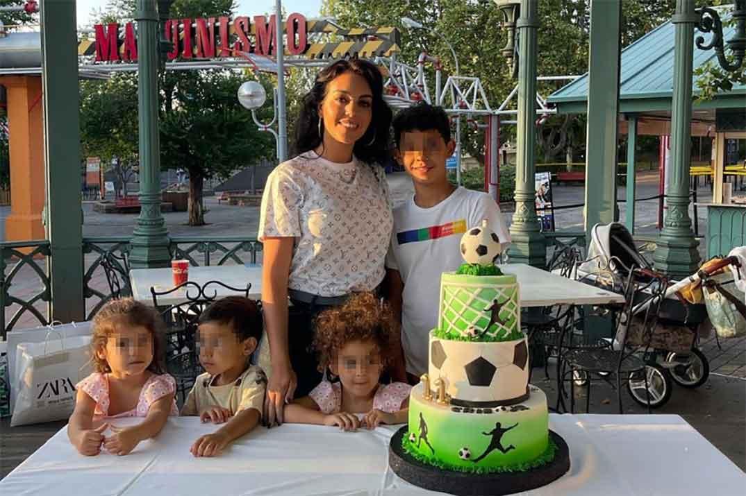 Georgina Rodríguez alquila el parque de atracciones para celebrar el cumpleaños de Cristiano Jr