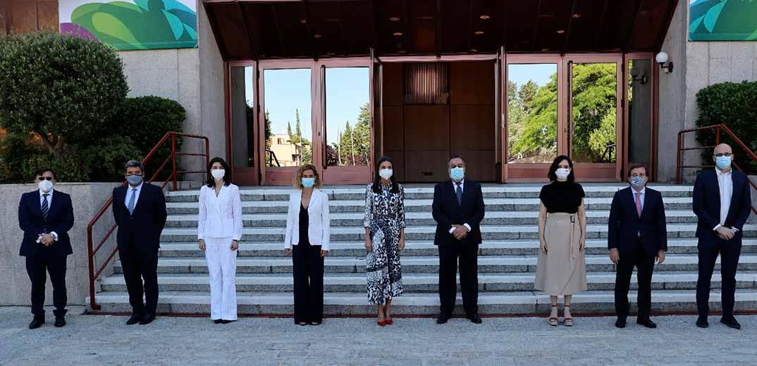 "Reina Letizia - World Blindness Summit Madrid 2021""© Casa S.M. El Rey"
