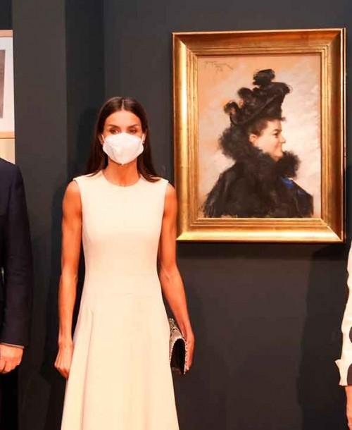 La reina Letizia apuesta por las tachuelas