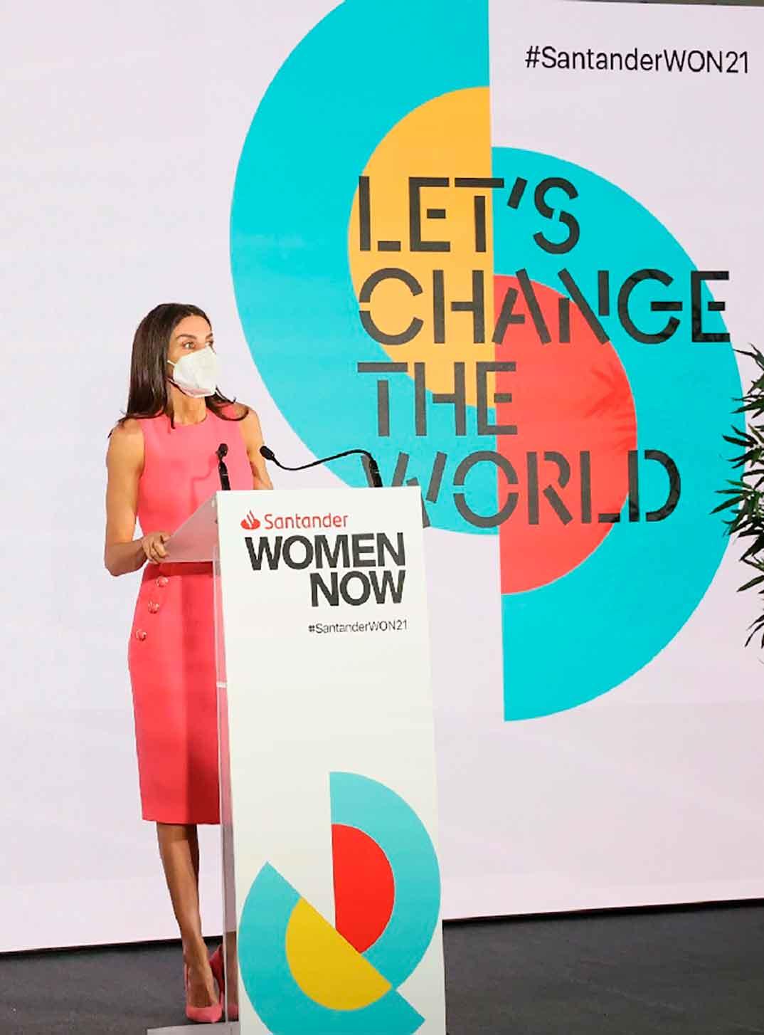 Reina Letizia - Santander WomenNOW Summit © Casa S.M. El Rey