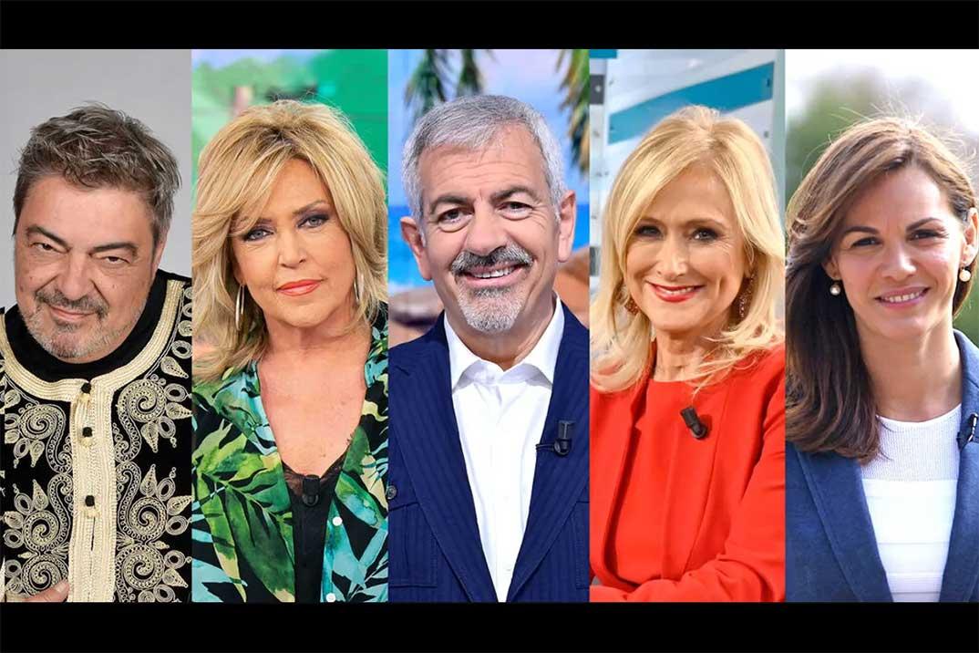 Fabiola Martínez, Carlos Sobera, Cristina Cifuentes, Lydia Lozano y Antonio Canales, primeros protagonistas de 'Los miedos de…'