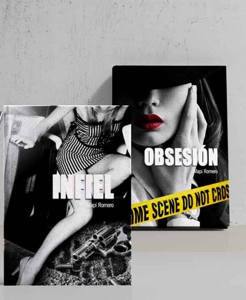 'Infiel' y 'Obsesión', de Mapi Romero, la autora que fusiona erotismo, suspense y acción