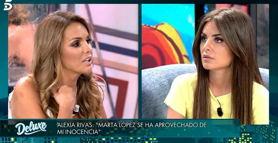Marta López y Alexia Rivas © Telecinco