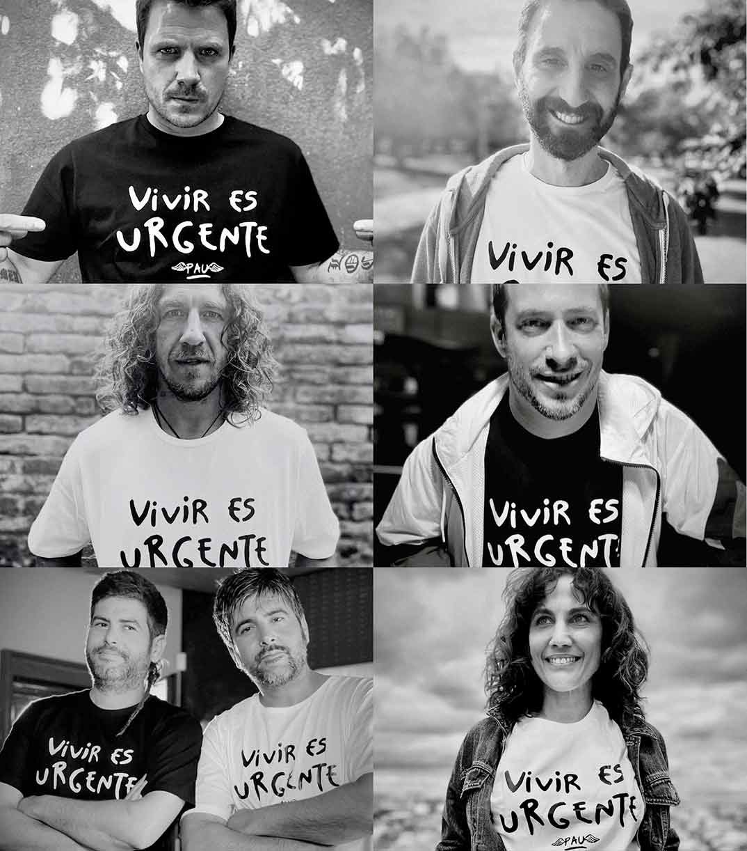 La camiseta de Pau- Vivir es urgente © Instagram