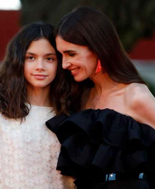 Paz Vega y su hija Ava Salazar, lección de estilo sobre la alfombra roja de Málaga