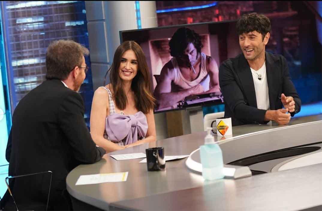 Paz Vega y Javier Rey - El Hormiguero © Antena 3