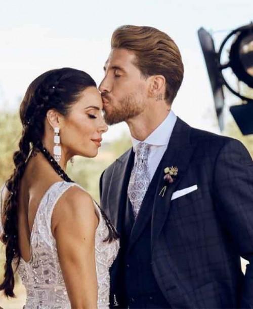 Las románticas palabras de Sergio Ramos a Pilar Rubio en el aniversario de su boda