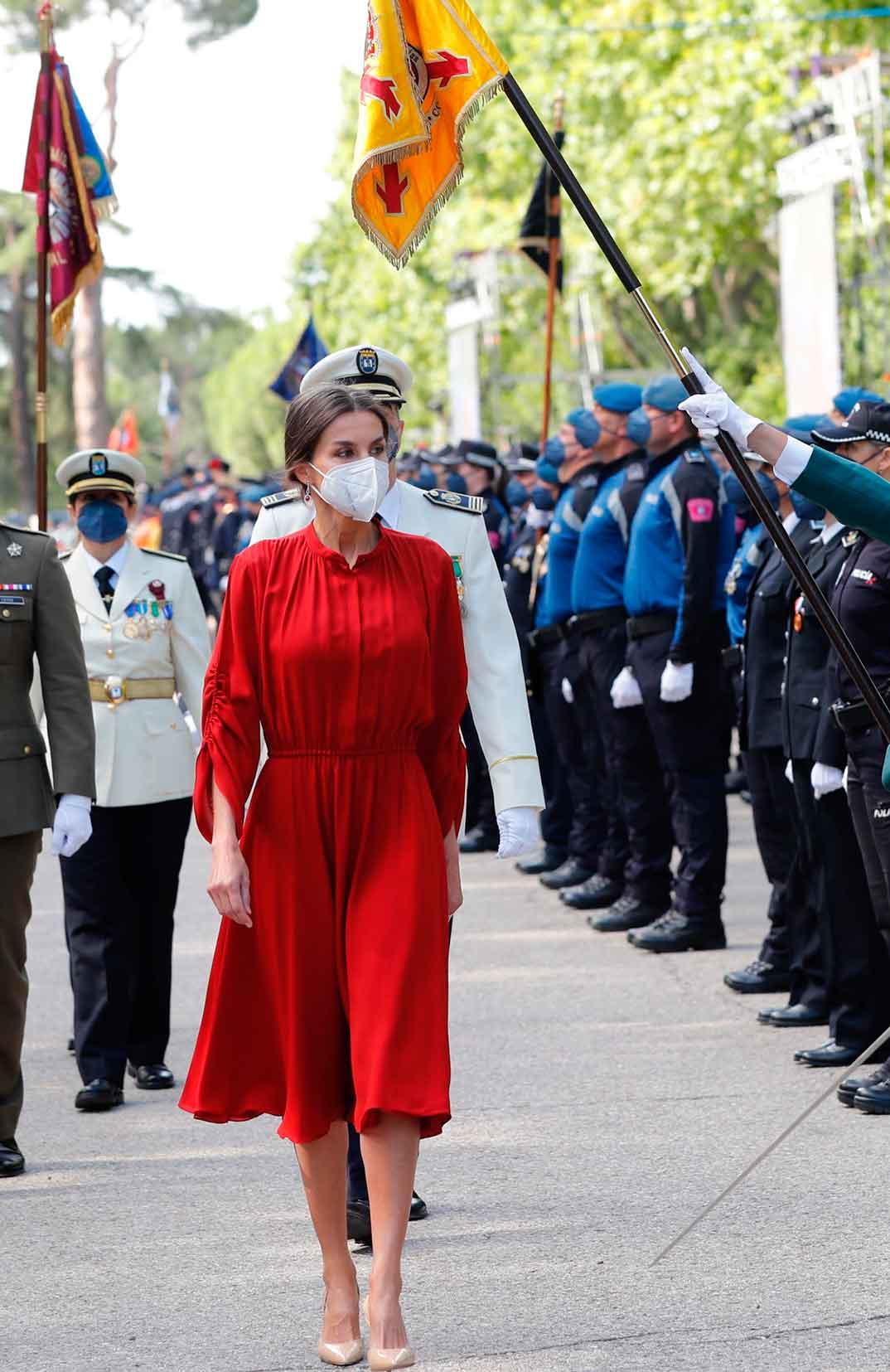 Reina Letizia - Patrón de la Policía Municipal de Madrid © Casa S.M. El Rey