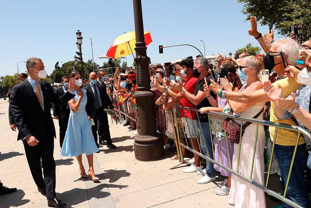 Reyes Felipe y Letizia - Medalla de Honor de Andalucía © Casa S.M. El Rey