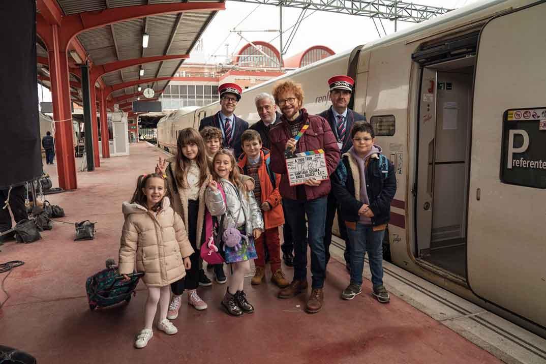 '¡A todo tren! Destino Asturias', la nueva comedia familiar de Santiago Segura