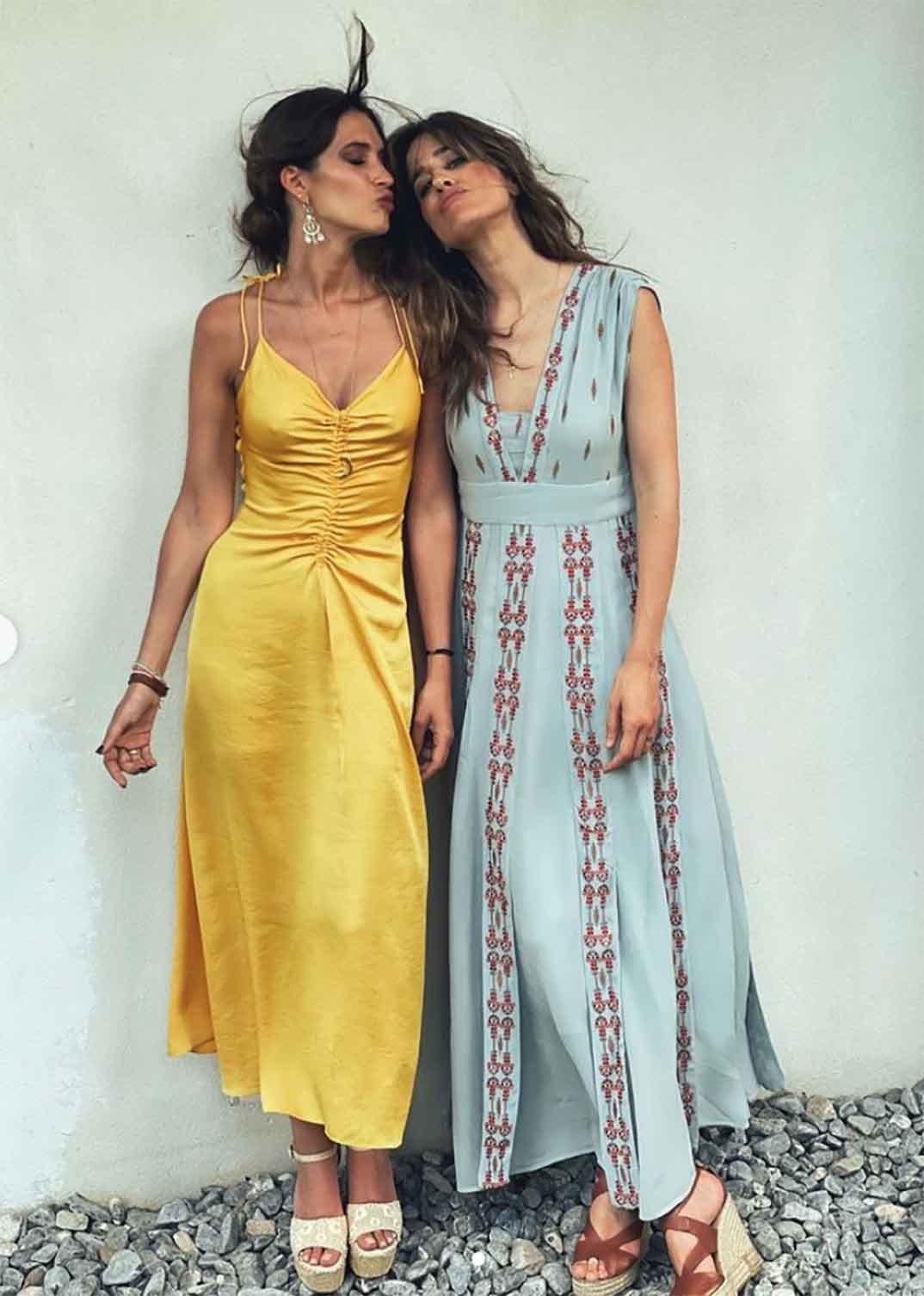 Sara Carbonero e Isabel Jiménez © Instagram