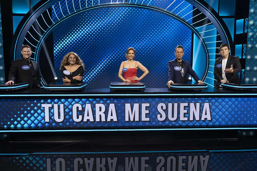 Tu cara me suena - Family Feud: la batalla de los famosos © Antena 3
