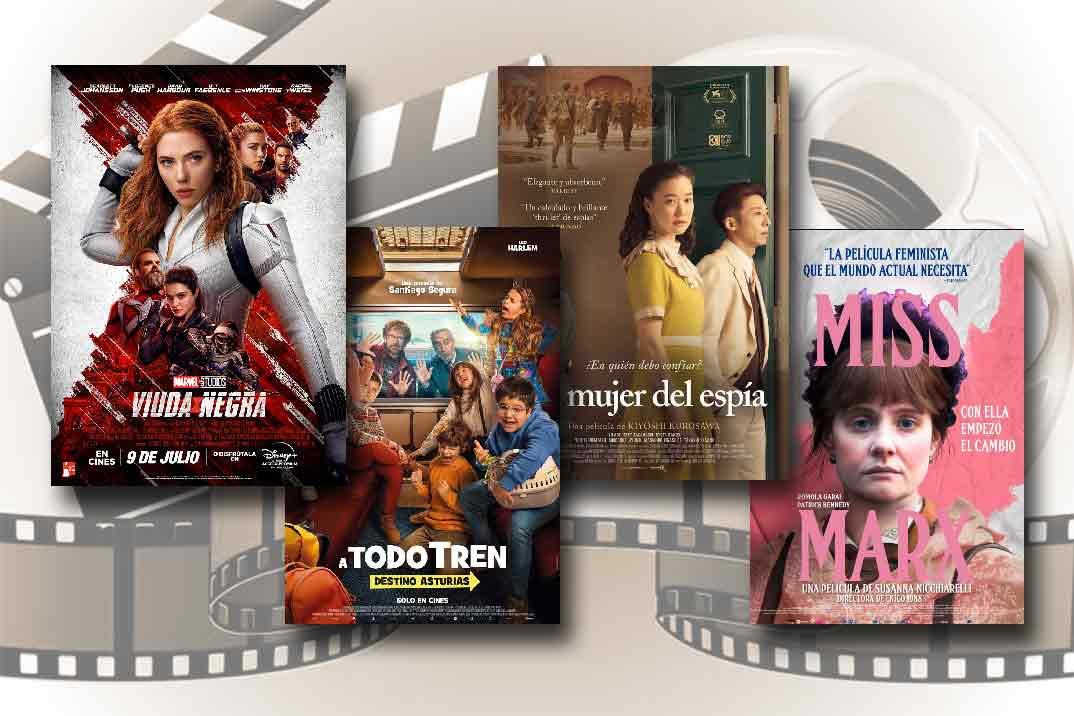 Estrenos de Cine de la Semana… 9 de Julio 2021