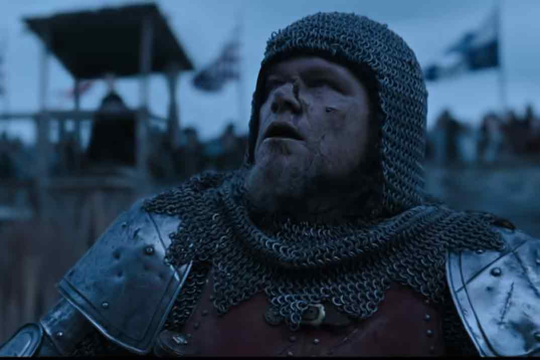 """""""Duelo final"""" la nueva película de Ridley Scott – Fecha de estreno y primer trailer"""