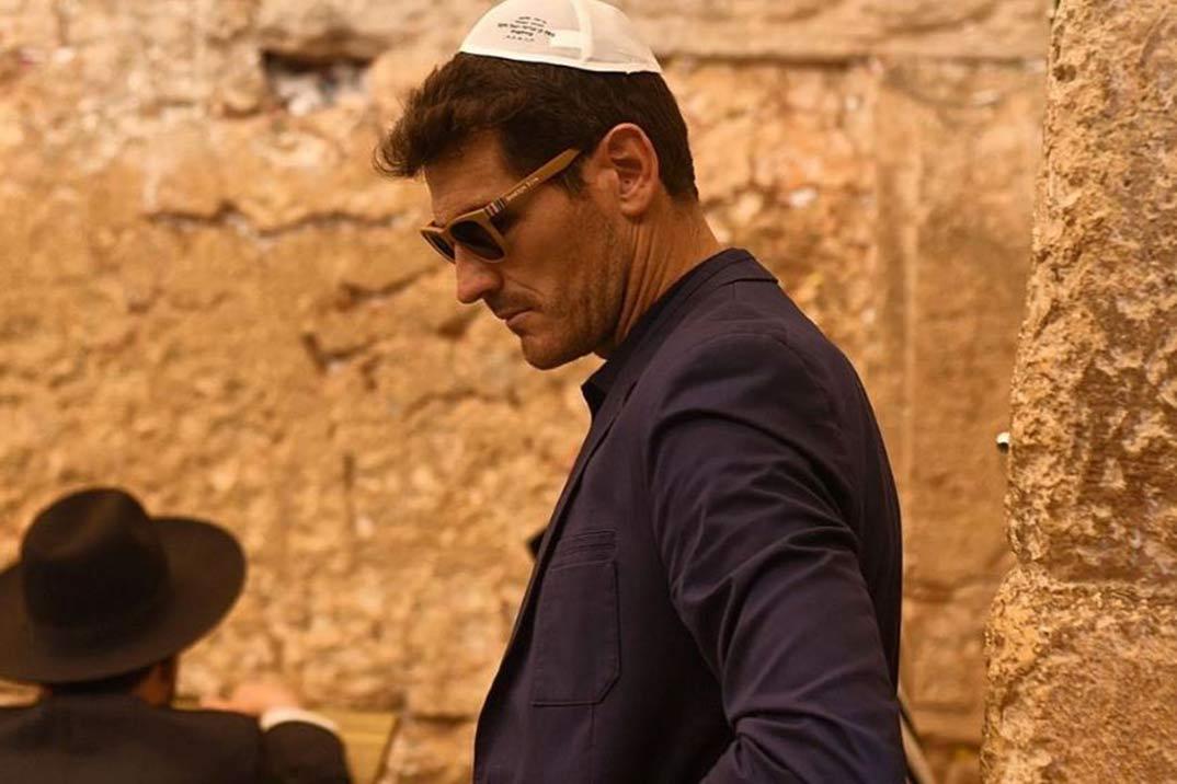 Iker Casillas… Del Caribe a Tierra Santa