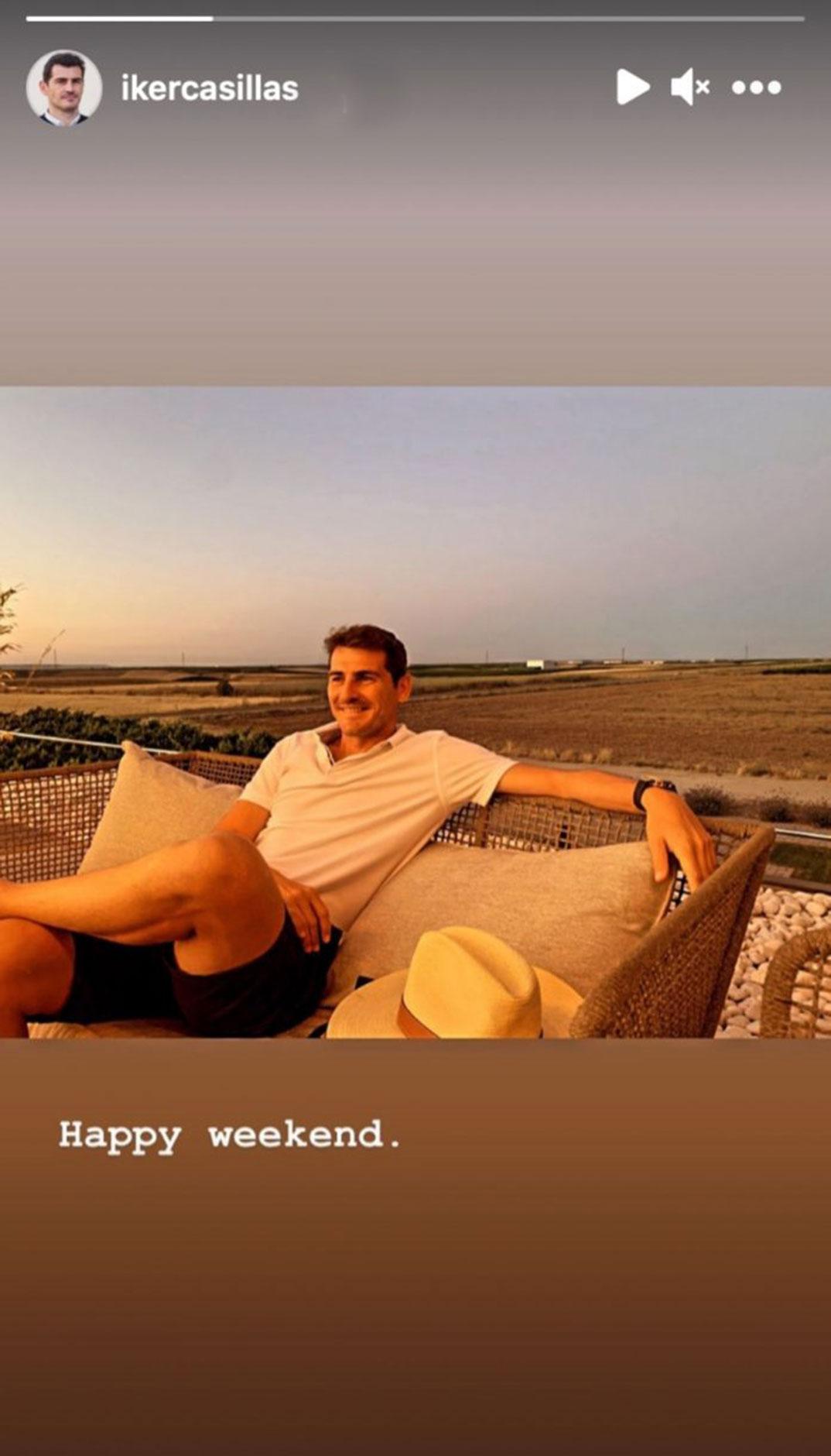 Iker Casillas © Instagram