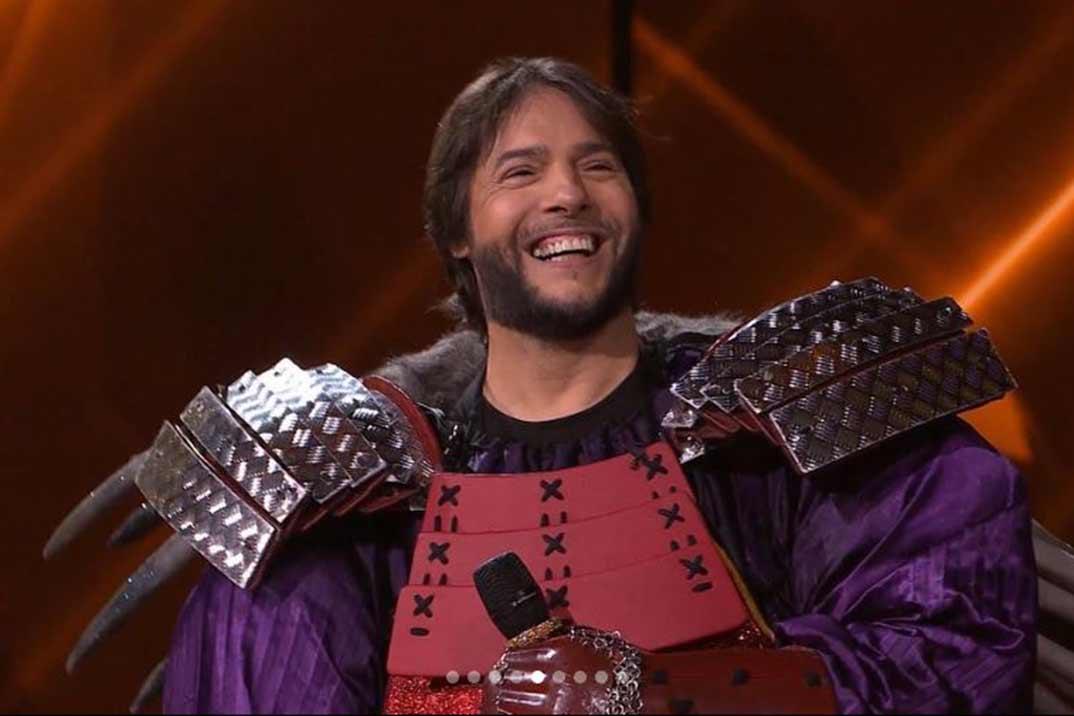 Joaquín Cortes gana 'Mask Singer' bajo la máscara de Erizo